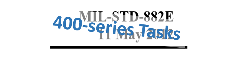 Mil-Std-882E 400-Series Tasks